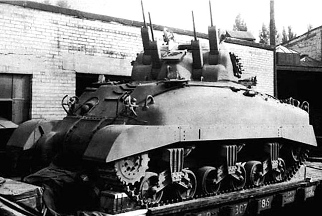 Skink Anti-aircraft Grizzly Tank