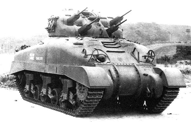 Tank A.A. 20mm Quad. Skink
