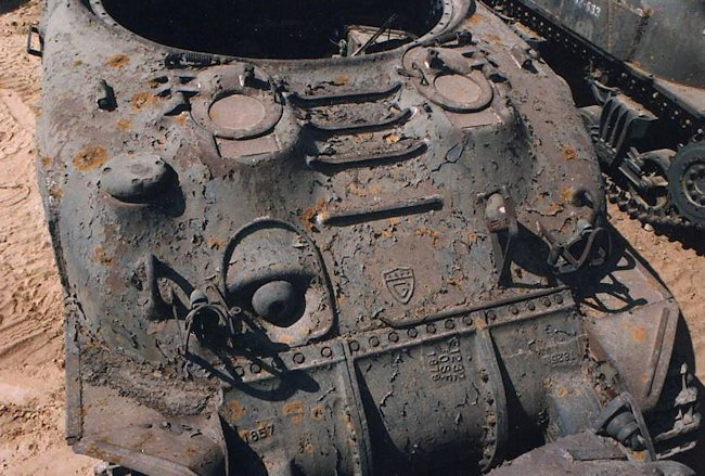 Skink Anti-aircraft Grizzly Tank Chassis converted to a Kangaroo APC