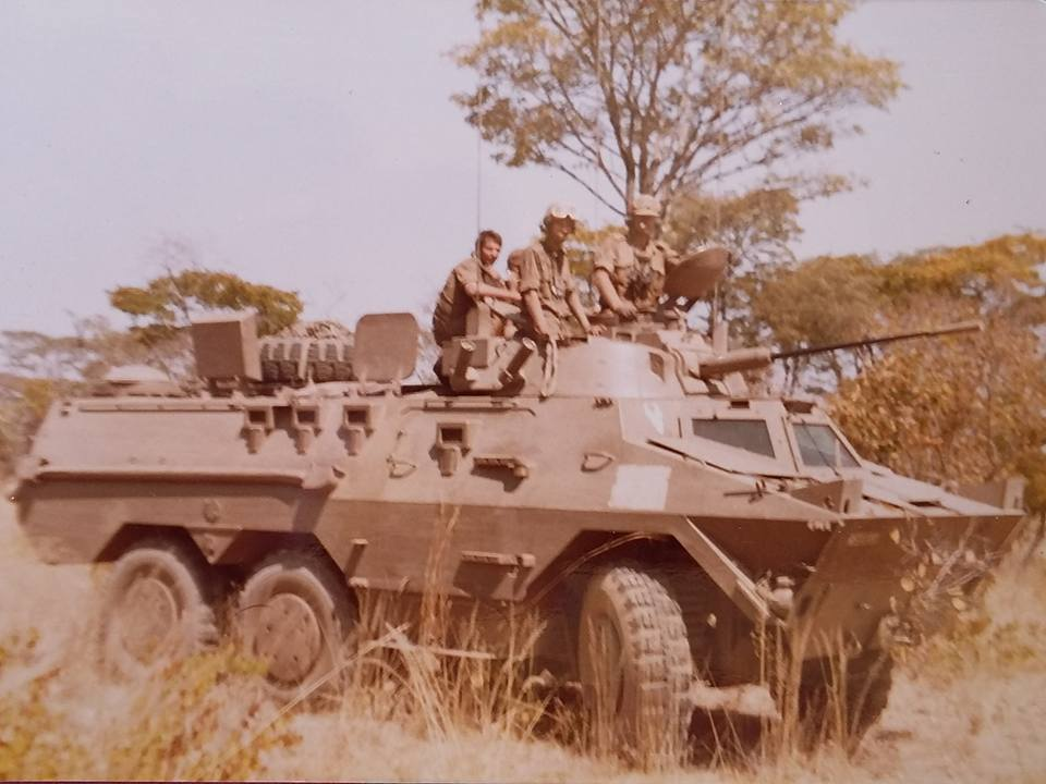 Ratel 20 during Operation Meebos, Angola 1982.