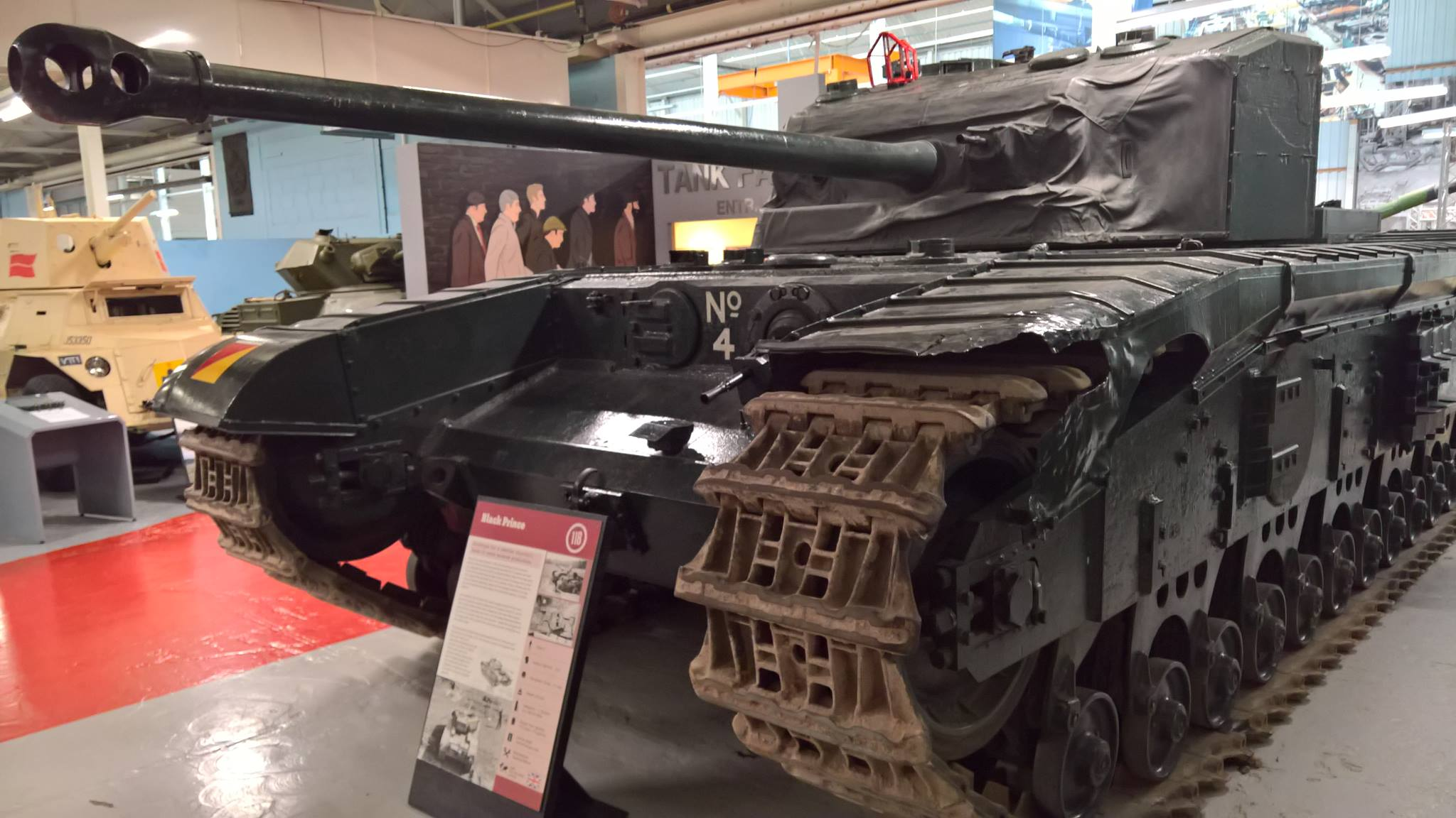 The 4th Prototype as it sits in the Tank Museum, Bovington. Photo: - www.tank-hunter.com