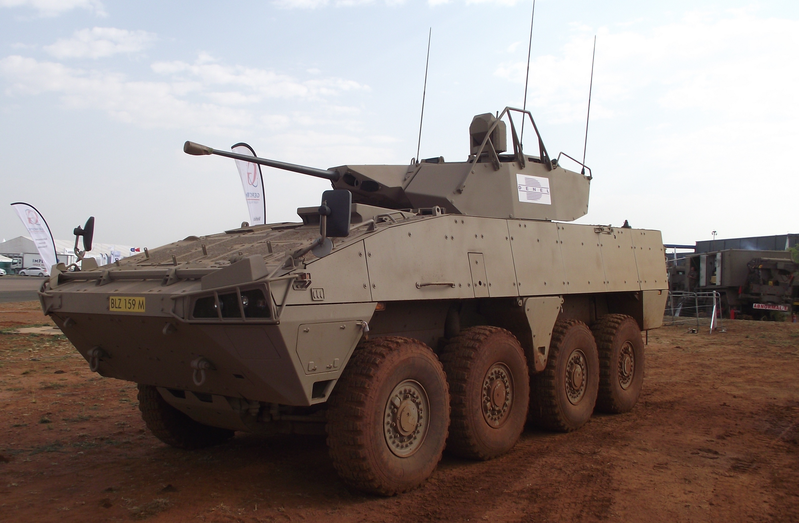 Badger IFV, Waterkloof AFB