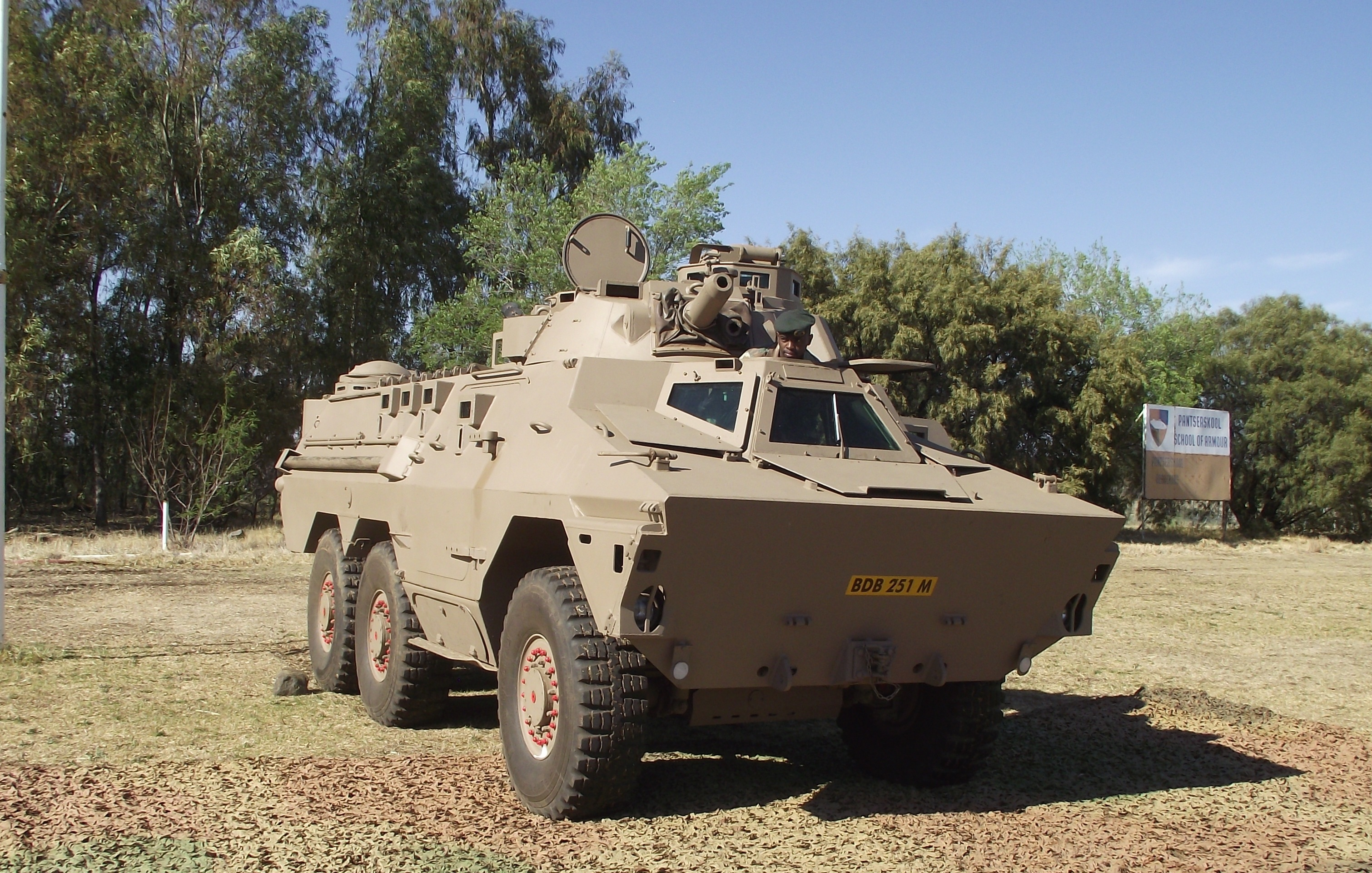 Ratel 60 - Tempe Military Base