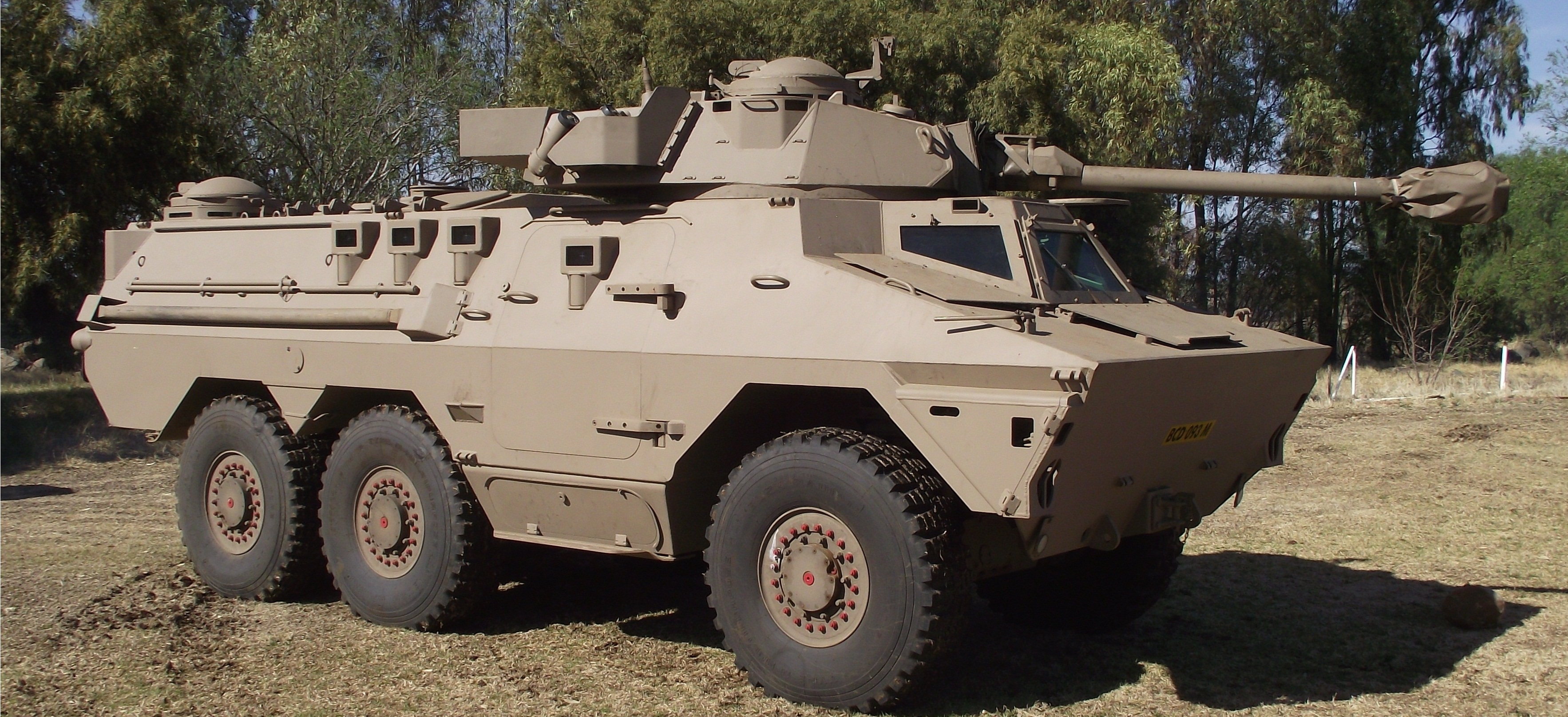 Ratel 90 - Tempe Military Base