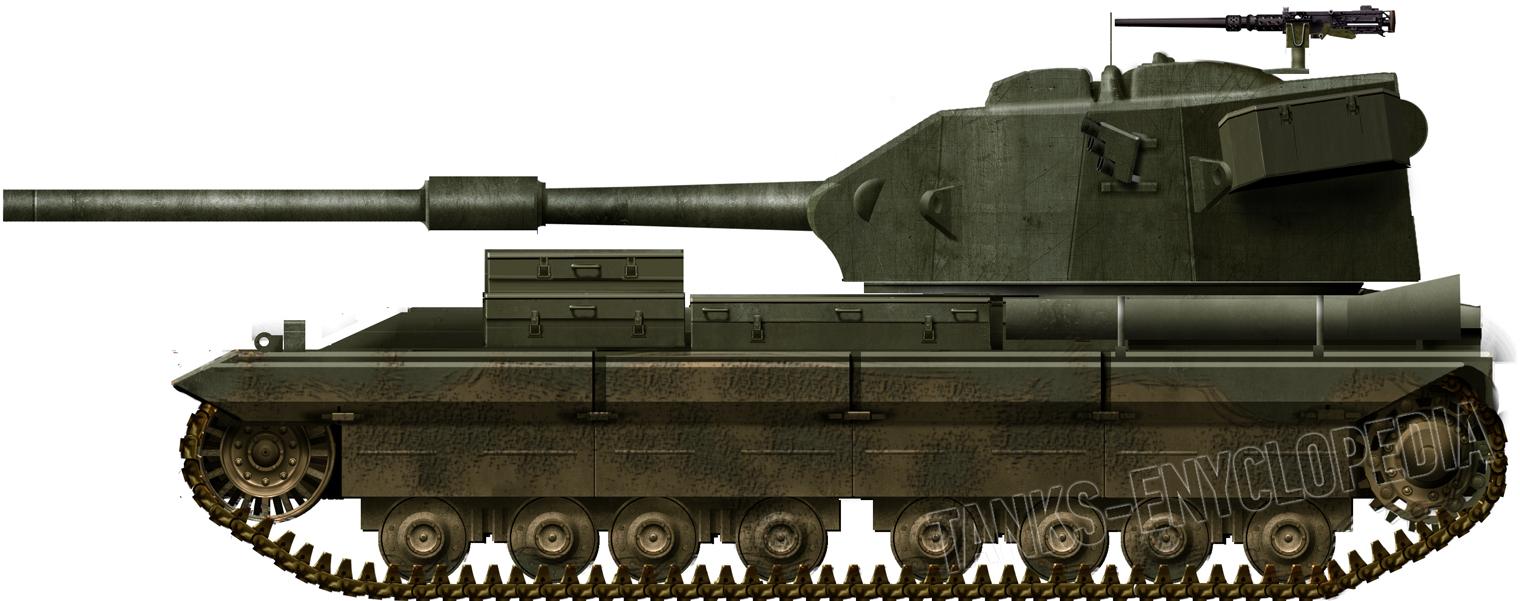 FV215 Heavy Gun Tank