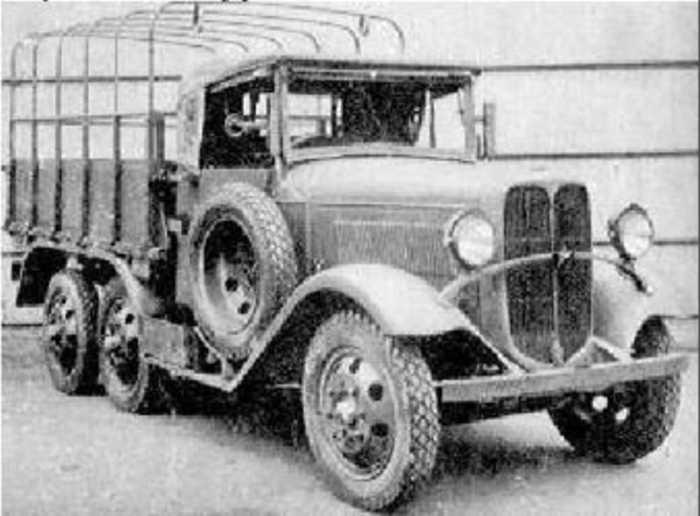 Isuzu 6x6 army truck
