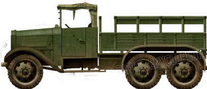 Type 94 Japanese Lorry 6x6 army truck