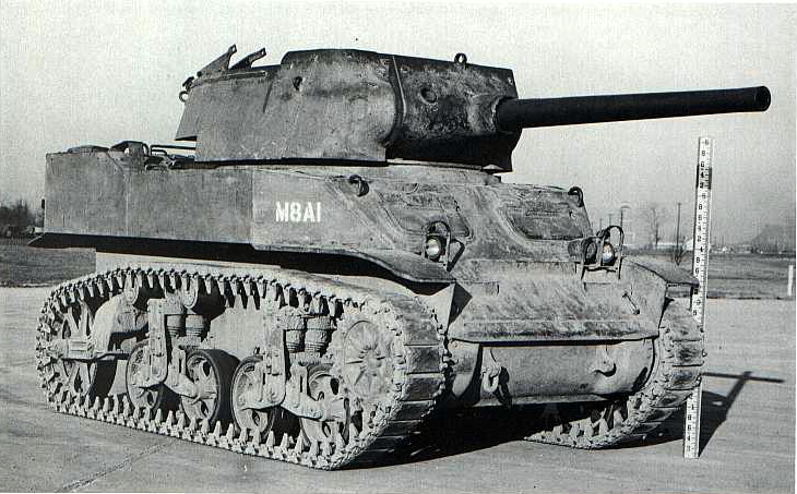The 75 mm Gun Motor Carriage M8A1 prototype - Photo: Wargamming.com