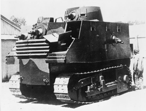 Photograph of 'Tank designed by Robert Semple between 1940 and 1941'
