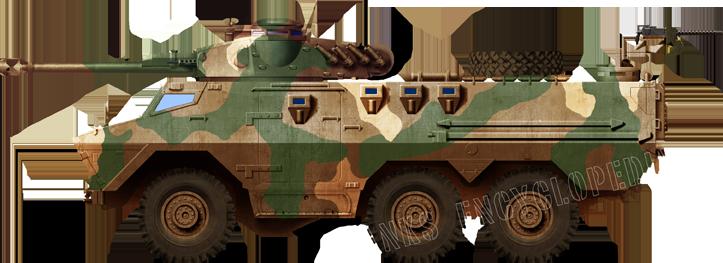 Ratel 90 - Late 1980`s colour scheme