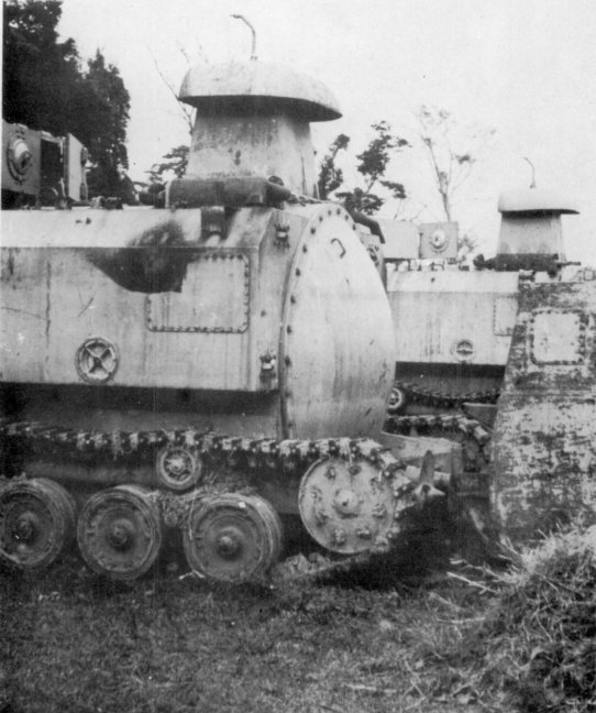 This WWII tank could be launched from a submarine underwater