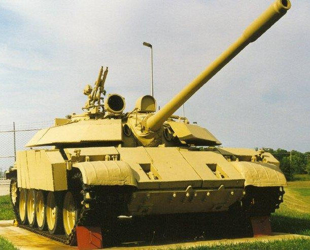 T-55 Enigma, serving as a gate guardian for the 203rd Military Intelligence Battalion, Aberdeen Proving Ground.