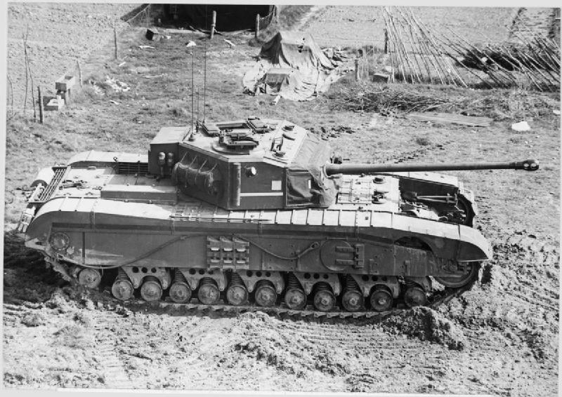 A side image of Prototype No. 3. Photo: www.panzeroperations.com