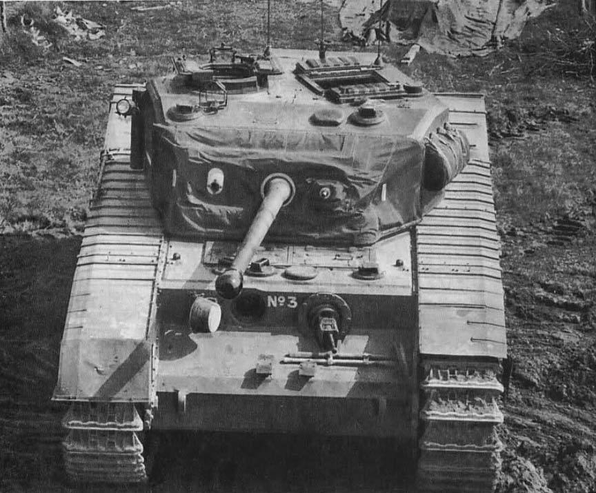 A face-on image of the 3rd Prototype, showing the canvas cover over the mantlet, the open drivers port, stowage on the left of the turret, and for some reason, a missing fender above the tank's left idler wheel. Photo: weaponsandwarfare.com