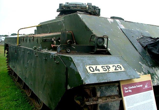 Chieftain Casemate Test Rig CTR - Tank Encyclopedia