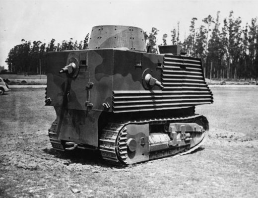 Semple Tank undergoing trials
