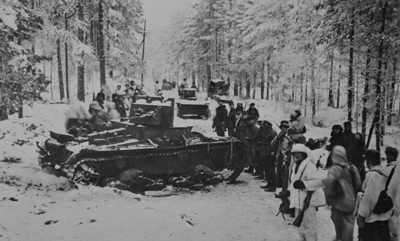A HT-26 in Finland, captured by Finnish forces