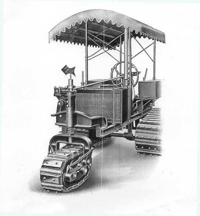 The Strait's tractor illustration from the Company's advertising catalogue.