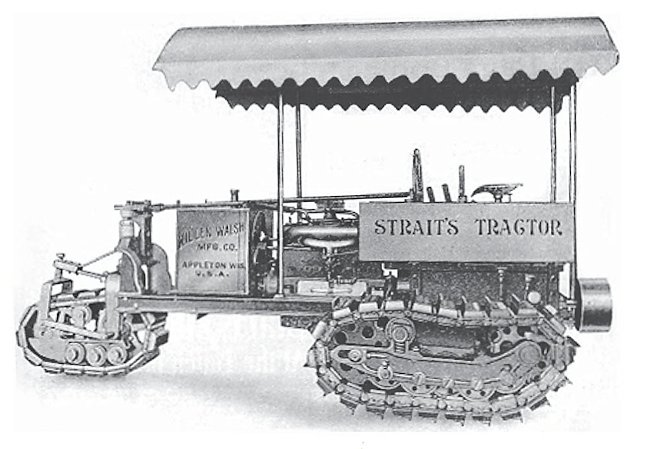 straits agricultural farm tractor