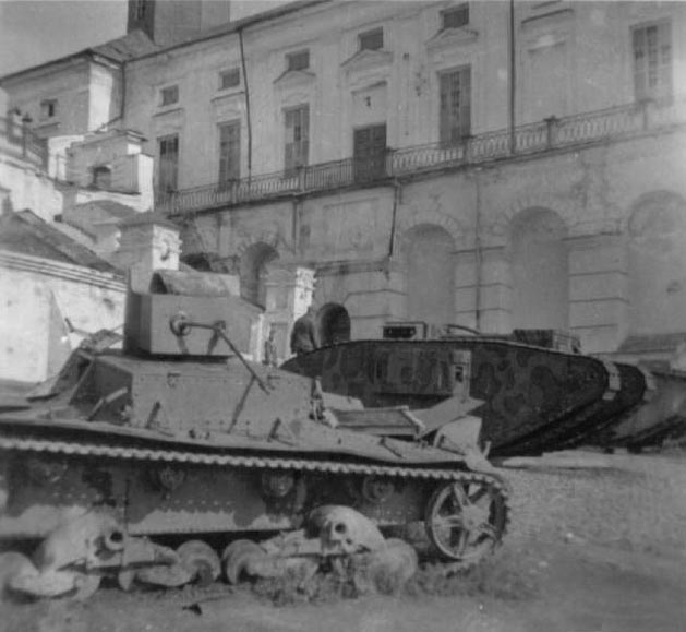 An HT-26 at Smolensk in 1941.