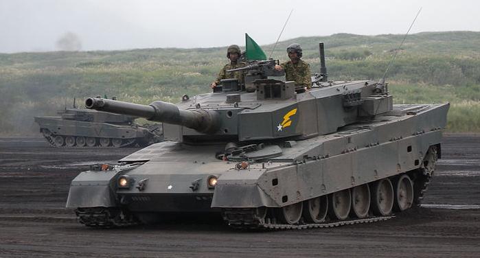 نتیجه تصویری برای type 90 japan tank