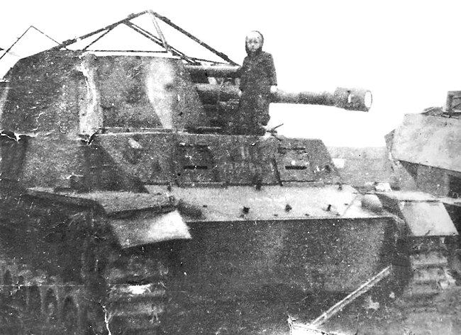 German WW2 10.5 cm le.F.H. 18/40 GW III/IV Hummel Wespe artillery SPG