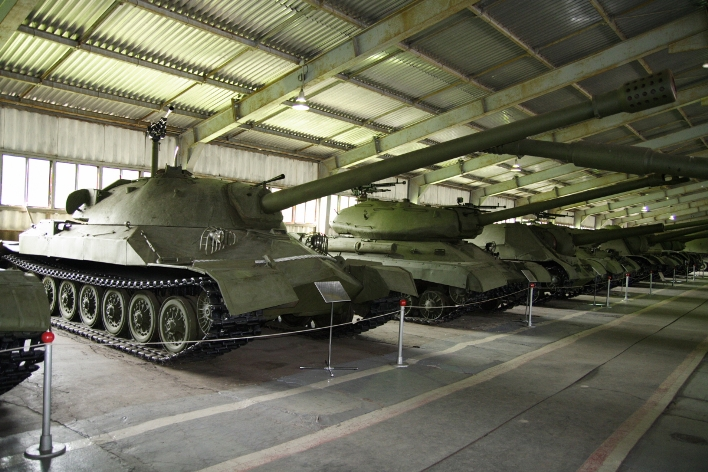 The IS-7 as it stands today in the Kubinka Tank Museum