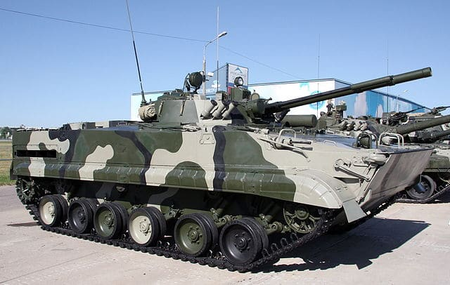 Russian BMP-3 exhibition