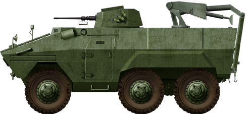 EE-11 Urutu Armored Recovery Vehicle
