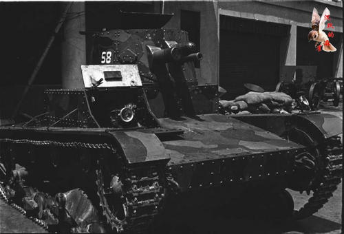 Mark E Type B, Battle of Shanghai, 1937.
