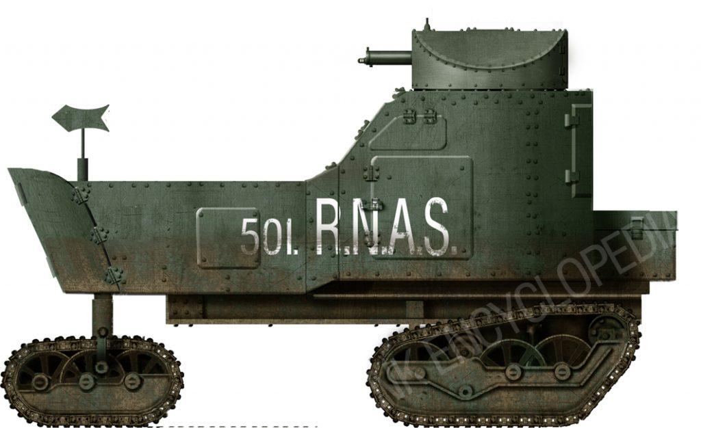 Killen-Strait armored tractor