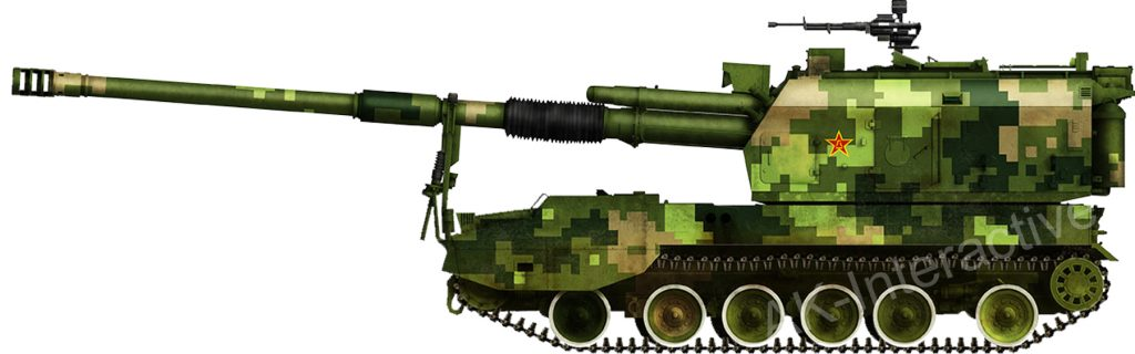 PLZ-05 Artillery SPG
