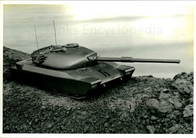 Panzer 74 wooden mockup