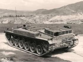 Panzer 58 Versuchsfahrzeug