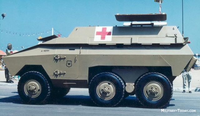 EE-11 ambulance version - Source: Military Today