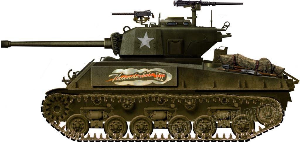 Assault Tank M4A3E2 Jumbo