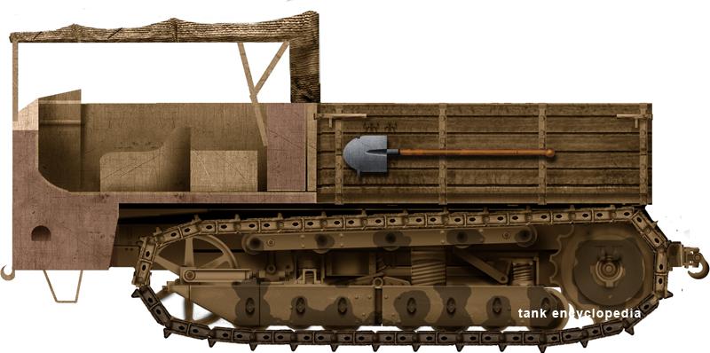 Schneider CD Artillery Tractor