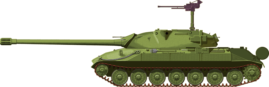 Illustration of the IS-7 by Jarosław Janas