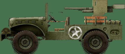 M6 GMC, 601st TD batallion, Tunisia, November 1942.