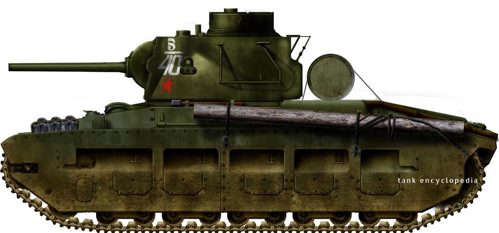 Matilda II in Soviet Service