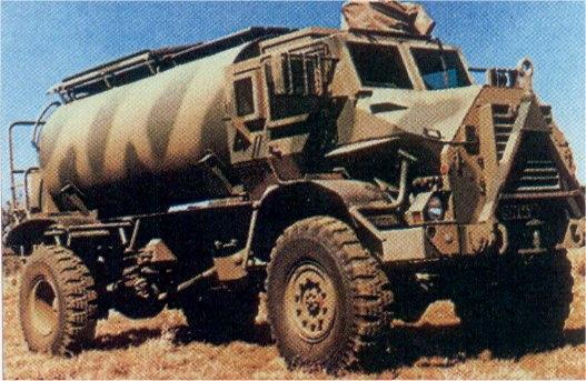 Casspir Mine Protected Vehicle Tank Encyclopedia