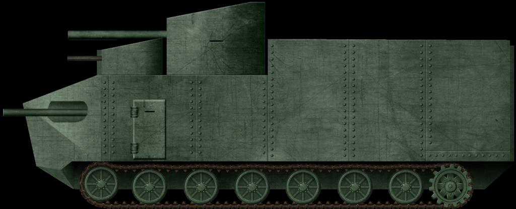 The Tanks of Pawel Chrobok