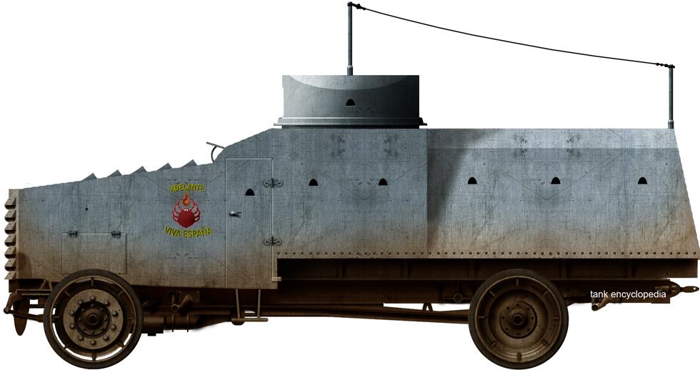 'Ferrol' Armored Car