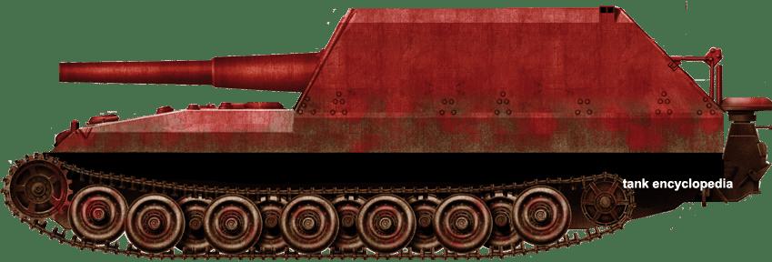 Geschützwagen Tiger für 21 cm Mörser 18/1 (Sf.) Grille