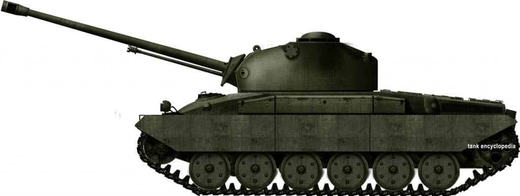Panzer 58 and its Development