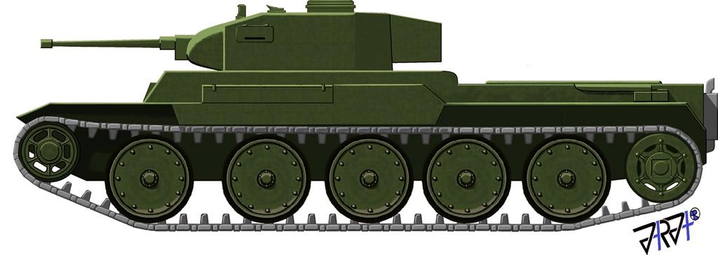Polnischer Panzerkampfwagen T-39
