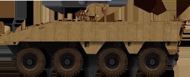 VTT, the troop transport