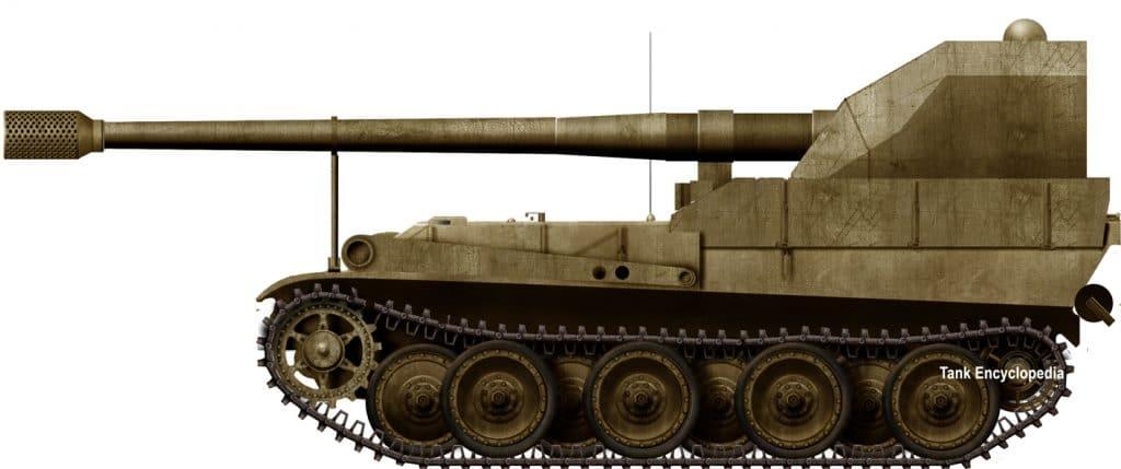 Waffenträger Panthers – Heuschrecke, Grille, Skorpion
