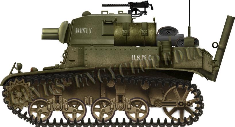 Light Tank M3A1 Satan