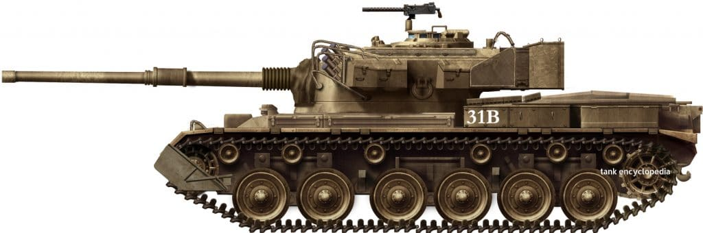 Olifant Mk1A Main Battle Tank